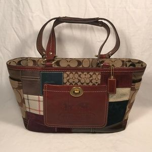 Coach 11358 Limited Edition Patchwork Bag Tote